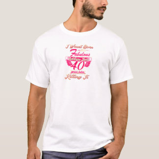 Camiseta 65th tshirt bonito do presente da festa de