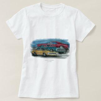 Camiseta 67, 68, t-shirt de 69 senhoras de Camaro