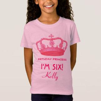 Camiseta 6o Ideia conhecida feita sob encomenda V21 do