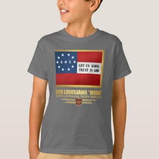 """Camiseta 6o Infantaria """"irlandesa"""" de Louisiana"""