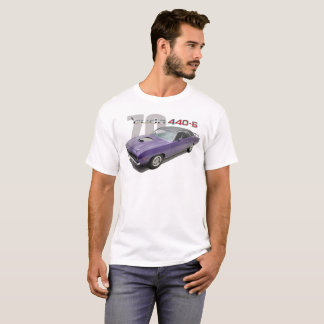 Camiseta '70 PLYMOUTH CUDA 440 SEIS t-shirt do BLOCO