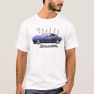 """Camiseta '71 Plymouth Cuda 340"""" ameixa louca """""""