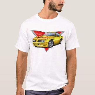 Camiseta 77-78 Firebird amarelo Ta
