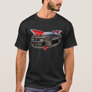 Camiseta 77-78 Firebird preto