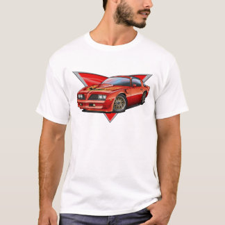 Camiseta 77-78 Firebird vermelho Ta