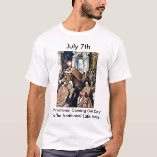 Camiseta 7 de julho: International que vem para fora dia