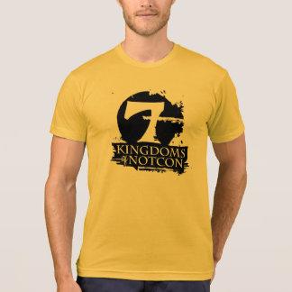 Camiseta 7 reinos do ouro de NotCon básicos