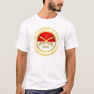 Camiseta 7o Cavalaria de Michigan (rd)