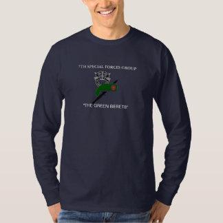 Camiseta 7o T-SHIRT LONGO da LUVA do GRUPO das FORÇAS