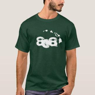 Camiseta 808 ilhas havaianas - verde