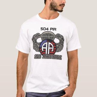 Camiseta 82nd 504 paramilitares transportados por via aérea