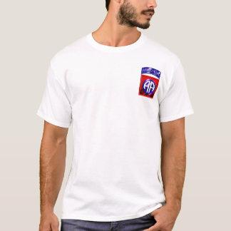 Camiseta 82nd Divisão aerotransportada toda a maneira