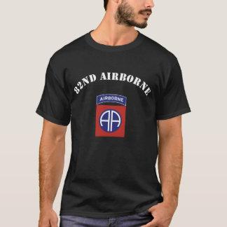 Camiseta 82nd Insígnias transportadas por via aérea