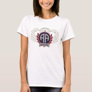 Camiseta 82nd Olhar do vintage da divisão aerotransportada