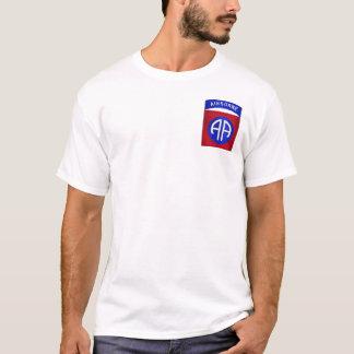 Camiseta 82nd Transportado por via aérea (bolso)