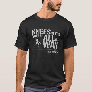 Camiseta 82nd Transportado por via aérea todos os joelhos