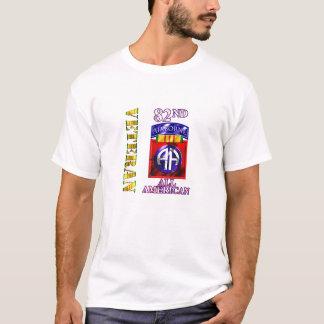 Camiseta 82nd Veterano de Vietnam da divisão