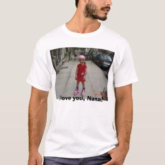 Camiseta 8.29.05 1 007, eu te amo, Nana!