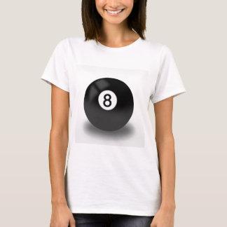 Camiseta 8 bola - bilhar