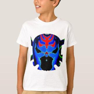 Camiseta 8 crânios coloridos - coleção de ART101 o Dia das