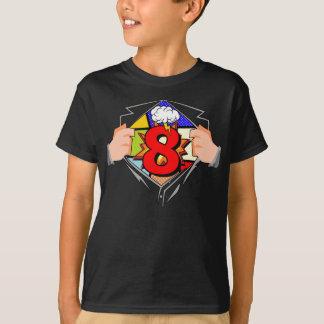 Camiseta 8o Aniversário cómico