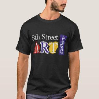 Camiseta 8o Logotipo da galeria de arte da rua