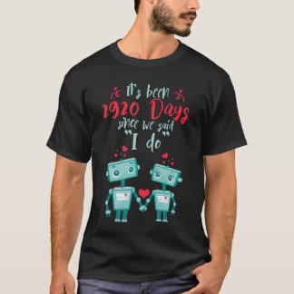 Camiseta 8o Presentes do aniversário de casamento
