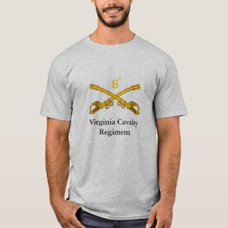 Camiseta 8o Regimento de cavalaria de Virgínia
