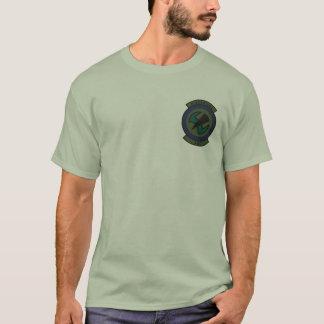 Camiseta 8o T Subdued SOS do emblema