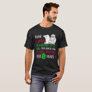 Camiseta 8o Tshirt do Natal, presente do divertimento para