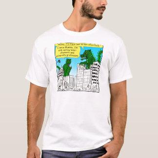 Camiseta 920 monstro comem estudantes da honra para a