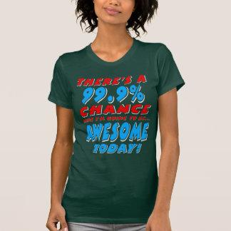 Camiseta 99,9% IR SER IMPRESSIONANTE (branco)