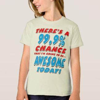 Camiseta 99,9% IR SER IMPRESSIONANTE (preto)