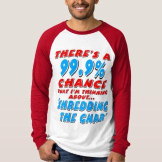 Camiseta 99,9% SHREDDING O GNAR (preto)