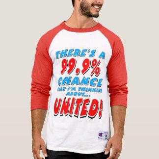 Camiseta 99,9% UNIDO (preto)