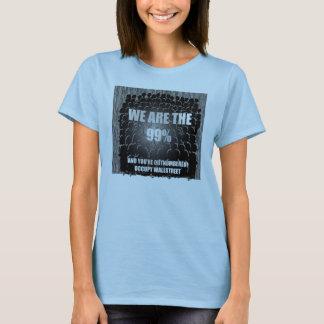 Camiseta 99% e contagem!!!