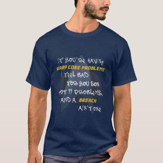 Camiseta 99 problemas… e uma RUPTURA não são uma