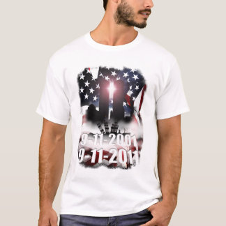 Camiseta 9-11 memorial da década