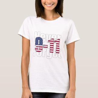 Camiseta 9-11 nunca esqueça