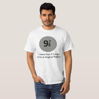 Camiseta 9 7/8 não são uma plataforma mágica