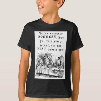 Camiseta A4 inteiramente bonkers