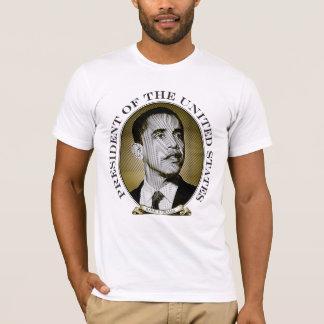 Camiseta A 44a identificação do presidente os EUA - Obama