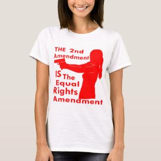 Camiseta A ?a alteração É a alteração dos direitos do igual