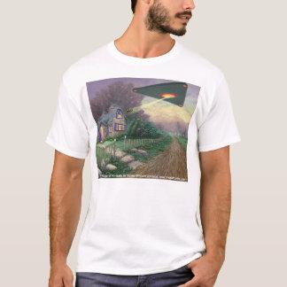 Camiseta A abducção de Kinkade, por Steven Vincent Johnso