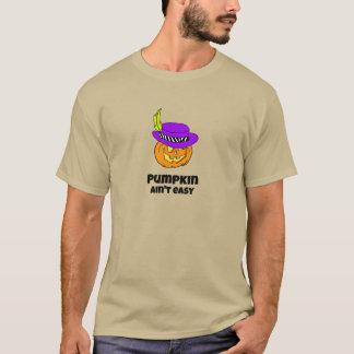 Camiseta A abóbora não é Jack-o-lanterna fácil do proxeneta