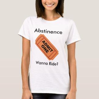 Camiseta A abstinência admite somente um