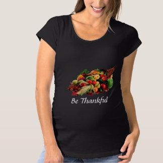 Camiseta A acção de graças seja colheita grata do outono do
