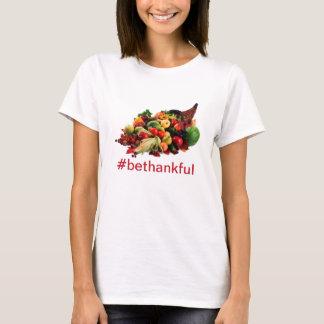 Camiseta A acção de graças seja Cornucopia grato da