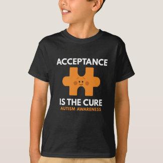 Camiseta A aceitação é a cura