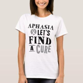 Camiseta A afasia deixa para encontrar um Tshirt das